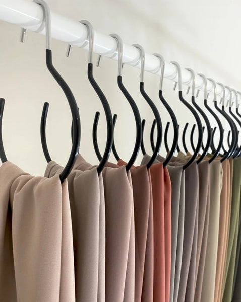 Storage Solutions | Non Slip  Hijab Hangers | Sets of 1, 3 or 10