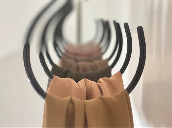 Storage Solutions | Non Slip  Hijab Hangers | Sets of 1, 3 or 10 - Mai Official