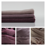 Classic Cotton Modal Maxi Hijab | Mulberry, Dusty Pink, Mink