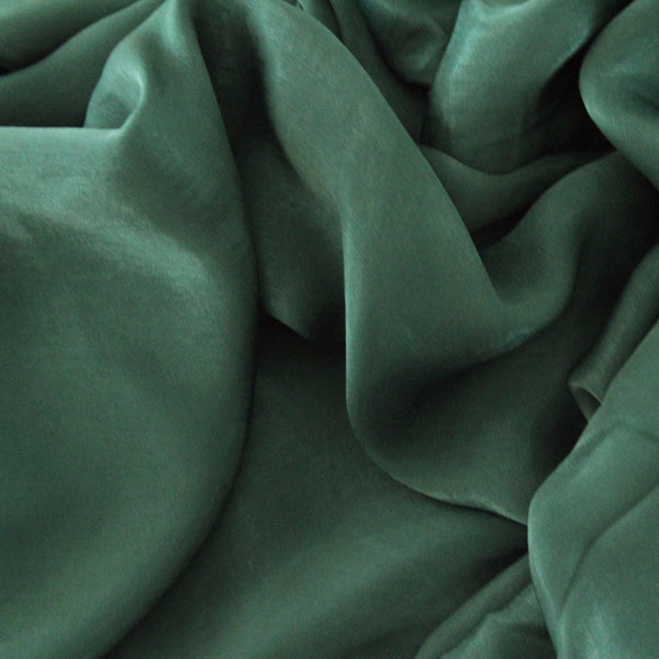 Natural Mulberry 100% Silk Occasional Maxi Hijab | Emerald