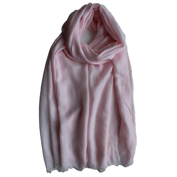 Classic Cotton Modal Maxi Hijab | Dark Burgundy, Rose, Pink Chai, Pale Blush - Mai Official