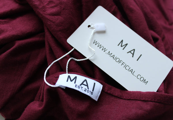 MAI Signature 100% Cotton Jersey Hijab | Auburn - Mai Official