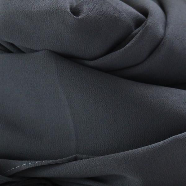 Soft Chiffon Crepe Hijab | Black, Ink , Denim & Graphite - Mai Official