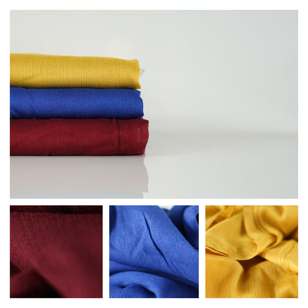 NEW COLOURS | Crêpe Cotton Collection | Colour Pop - Mai Official
