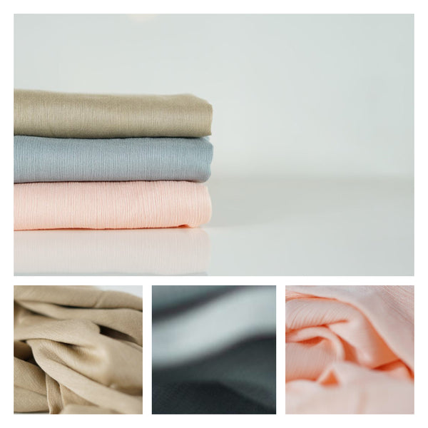 NEW COLOURS | Crêpe Cotton Collection | Regal - Mai Official