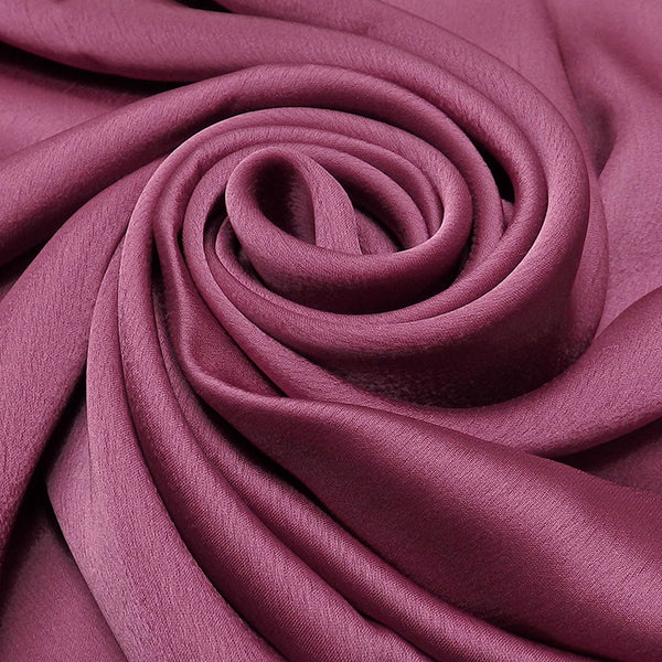 NEW | Rayon Silk Luxury Hijab | Magenta - Mai Official