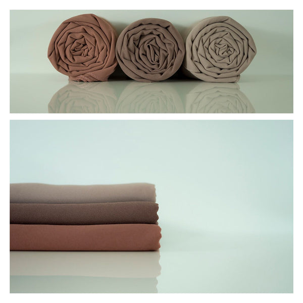 Soft Chiffon Crepe Hijab | Dusk Blush - Mai Official