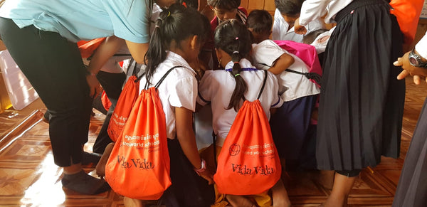 United World Schools Charity - New School Year, New School Bag!
