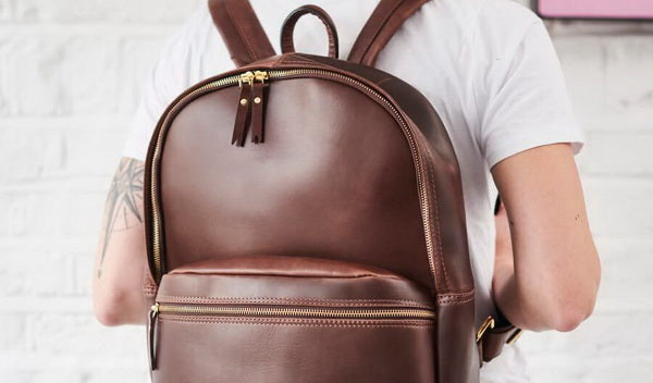 Leather Backpacks - Practicality & Fashion