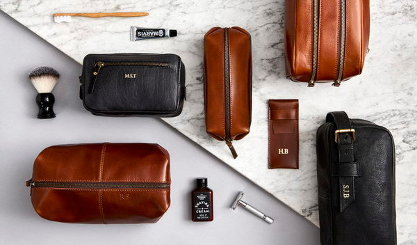 The Who's Who of Leather Wash Bags