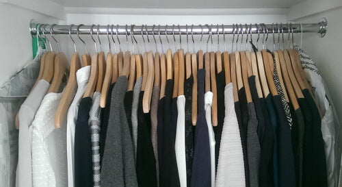 spring cleaning wardrobe done