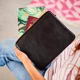 Leather Travel wallet / iPad case