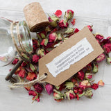Engagement Message In A Bottle Rose Contents