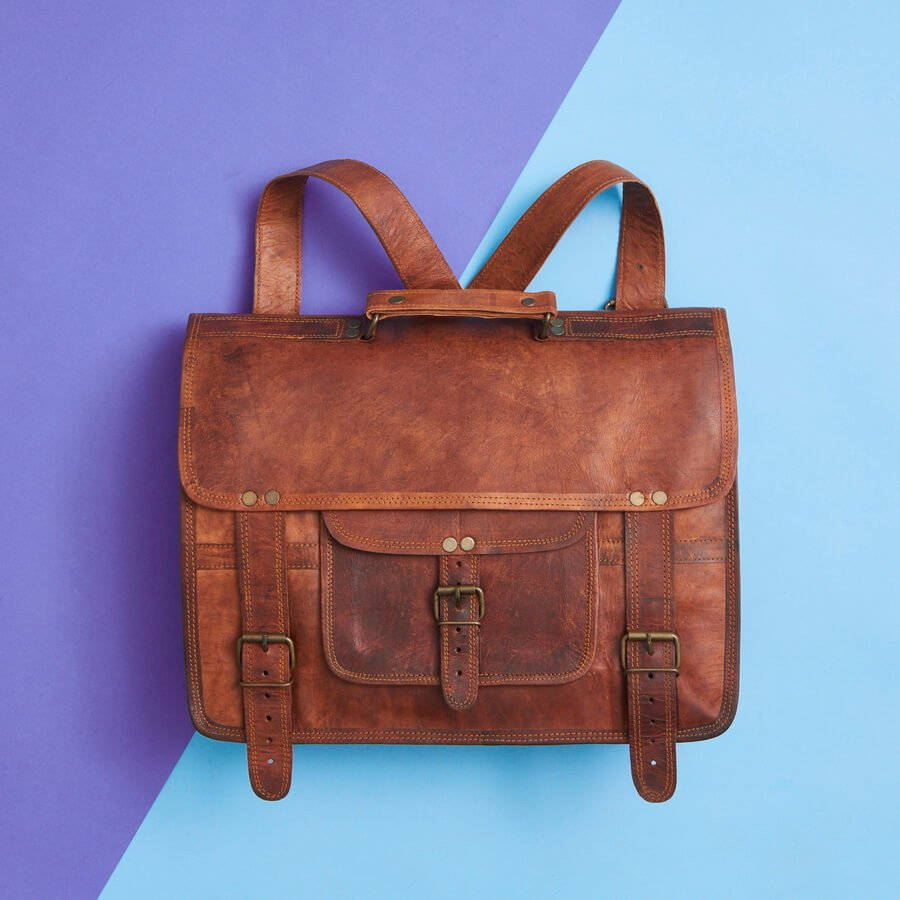 dad3563dd0b Extra Special Range of Handmade Leather Backpacks and Satchels.