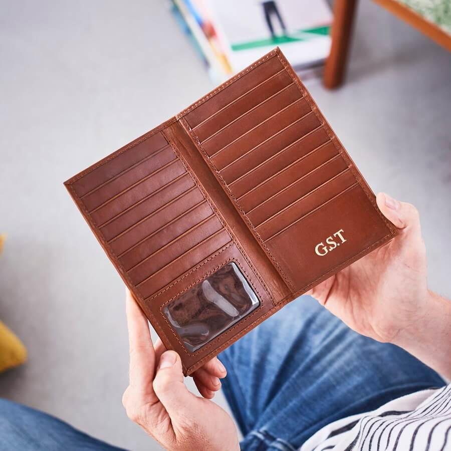 51c6faf32 Leather Breast Wallet
