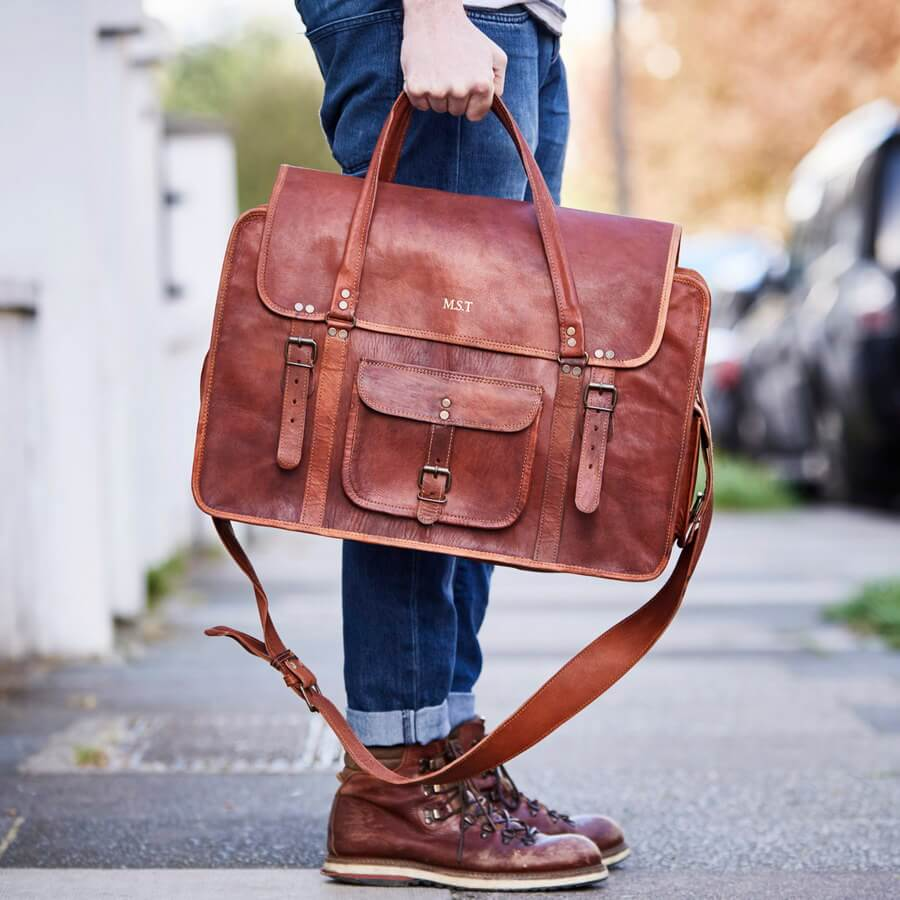 Men s Leather Travel Weekend Bag XL. Personalised extra large weekend  travel bag luggage d59853970eb23