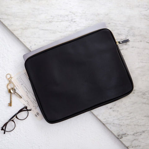 Leather Document Holder / Laptop Cover