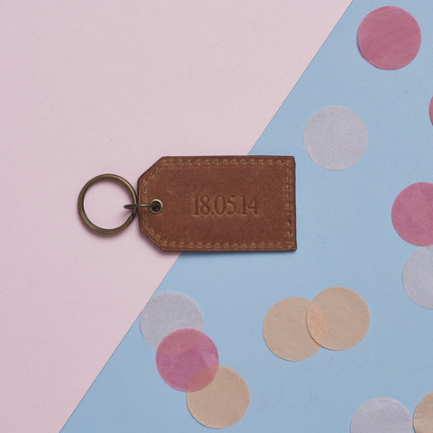 Anniversary Leather Key Ring