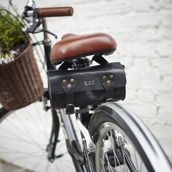 11dd45d4a0f Handmade Leather Bike Saddle Bag - Many More Bike Styles Available.