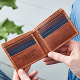 3 Colour Leather Card Wallet with RFID