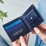 TEST COPY Colour Leather Coin Wallet with RFID
