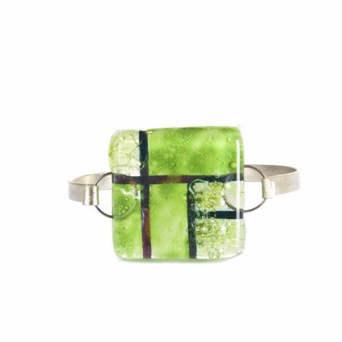 Glass Bangle Lime 2