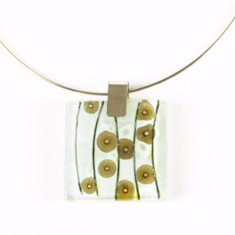 Glass Pendant Neutral 2