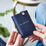 Personalised Leather Power Pack