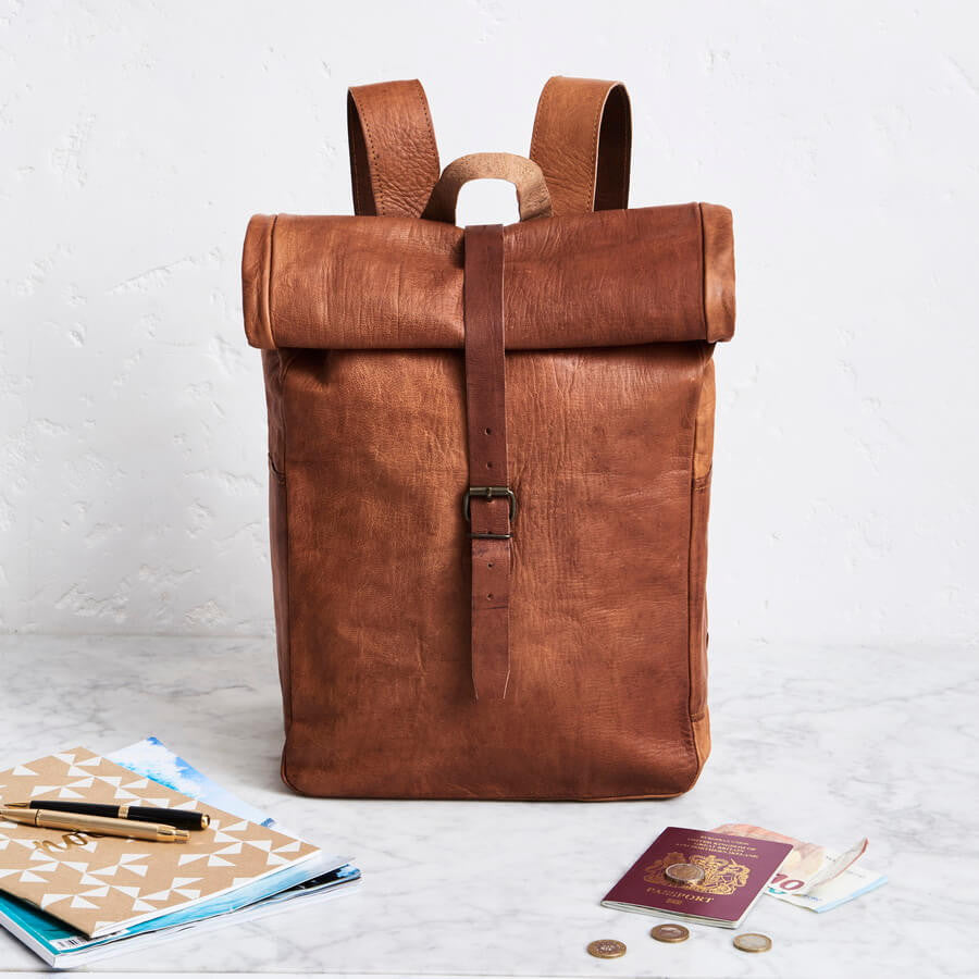 Leather Backpacks And Bags For Men Inspired By Vintage Classics