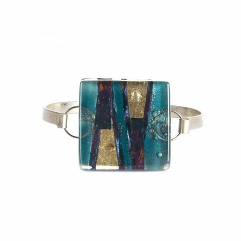 Glass Bangle Turquoise