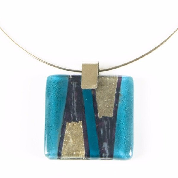 Glass Pendant Turquoise