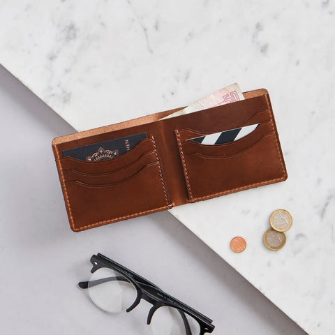 Vida Luxe Leather Card Wallet