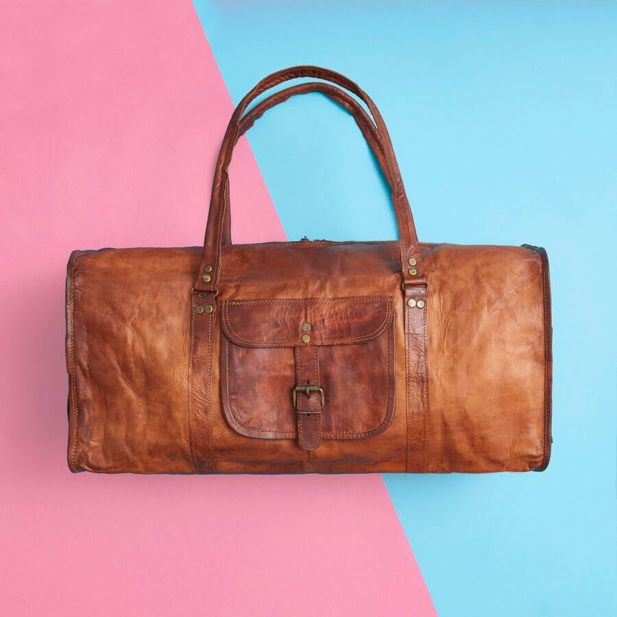 353c17f34841 Stylish Range of Vintage-Inspired Leather Duffel Bags and Travel Bags