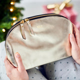 Lunar Leather Toiletry Bag