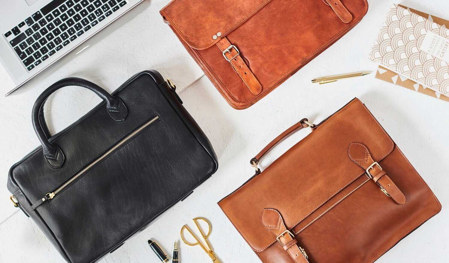 Range of Leather Laptop Bags