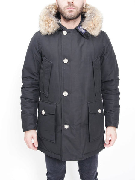 ARCTIC PARKA DF NEW BLACK WOOLRICH TRYMEShop