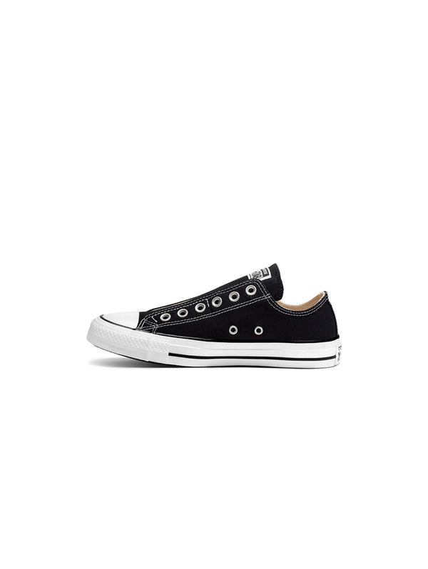 CONVERSE-Sneakers Bassa Chuck Taylor Slip On Black White Black-TRYME Shop