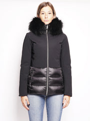 Winter Hibrid Hood 18537FT Nero