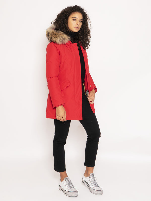 Giaccone Parka in Ramar - Rosso