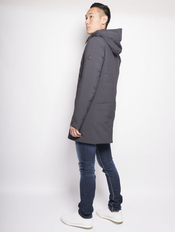 SAVE THE DUCK D4202M MATT7 - Cappotto con cappuccio removibile Nero Trymeshop.it