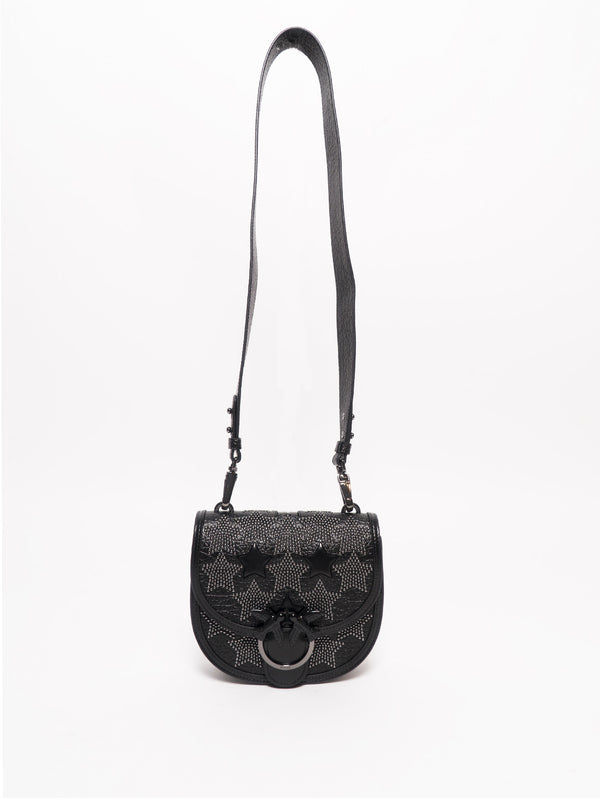 Borsa Round Love Bag Starry Sky Nero