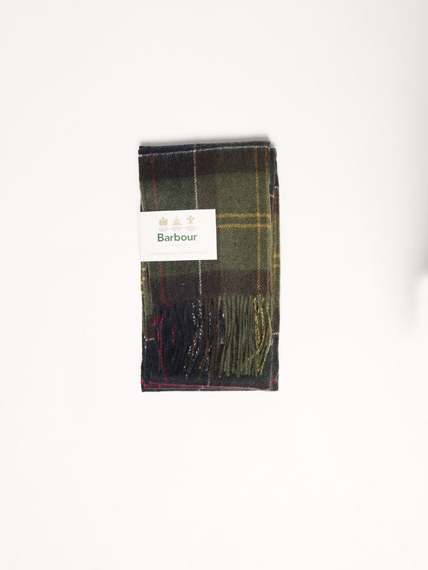 Lady Barbour Tartan - LSC0129 Verde-Sciarpe-Barbour-TRYME Shop
