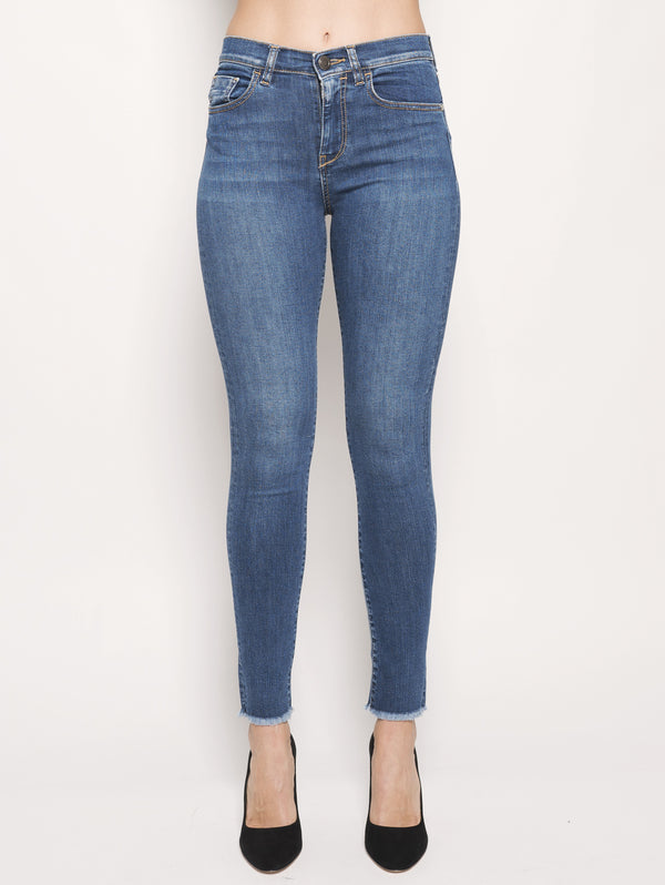 PINKO-Denim Super Skinny Blu-TRYME Shop