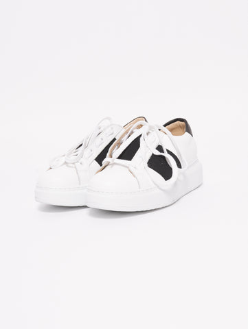 CHIARINI BOLOGNA Sneakers Oversize Bianco / Nero Trymeshop.it