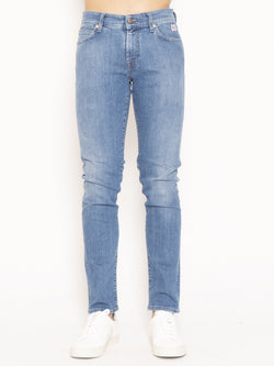 ROY ROGERS-Jeans 517 Denim Stretch Veni Blu-TRYME Shop