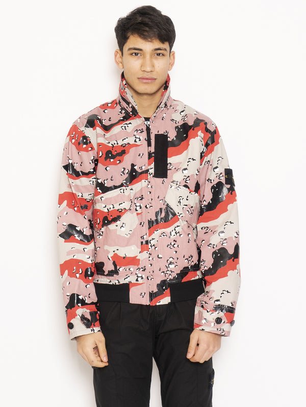 STONE ISLAND-Giacchetto Camouflage Multicolor-TRYME Shop