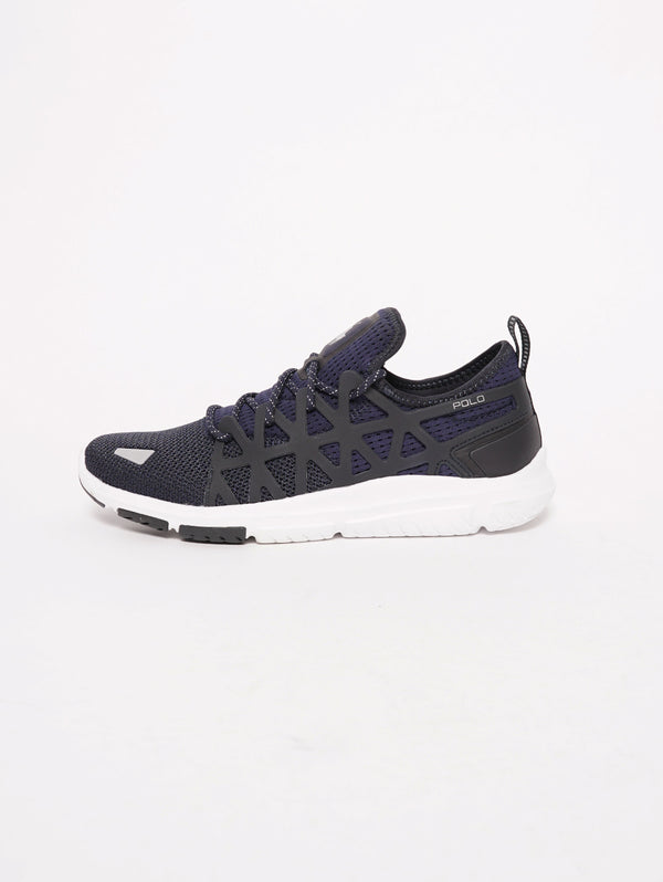 Sneaker Train 200 Navy-Scarpe-RALPH LAUREN-TRYME Shop