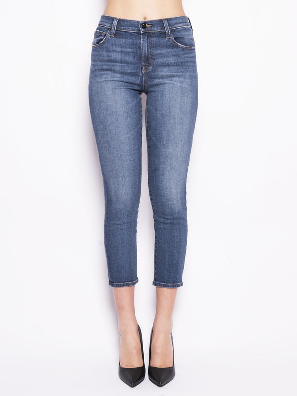 J BRAND-Jeans Ruby High Rise Crop-TRYME Shop