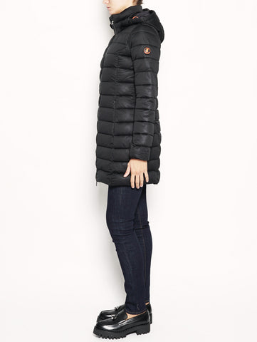 D4206W SOLD - Cappotto lungo  Nero SAVE THE DUCK TRYMEShop