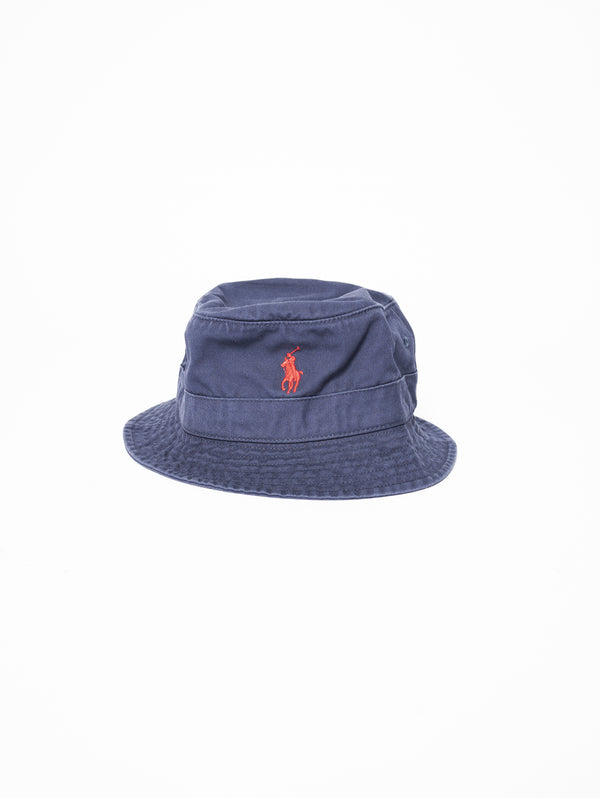 RALPH LAUREN-Cappello Bucket Navy-TRYME Shop